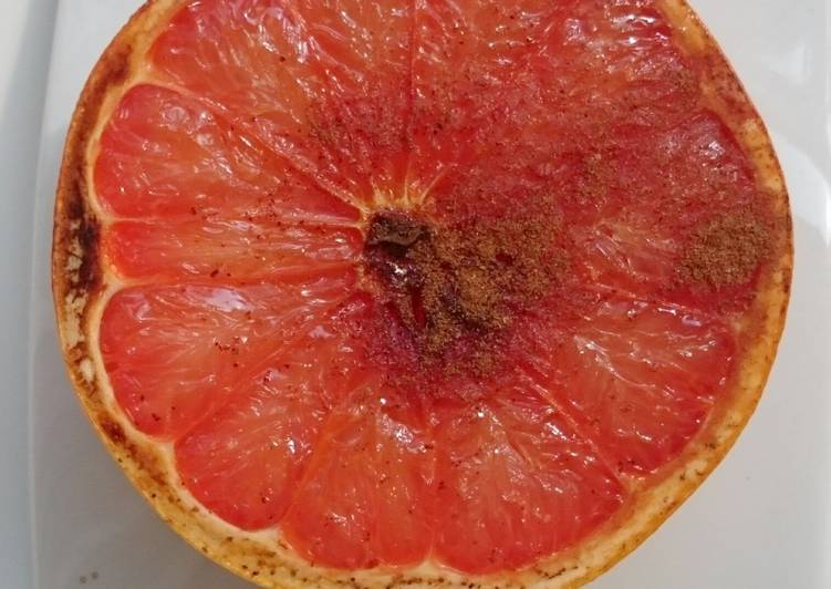 Recipe: Delicious Grapefruits With Honey And Cinnamon Dessert