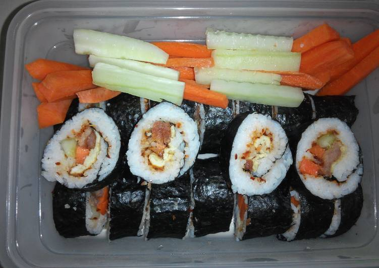 Easiest Way to Cook Tasty Egg Roll Sushi