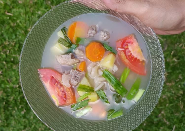 9 Resep: Sop Daging ❤️ dan tips agar daging cepat empuk Untuk Pemula!