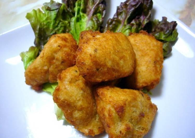 Recipe of Speedy Okara and Yamaimo Nuggets