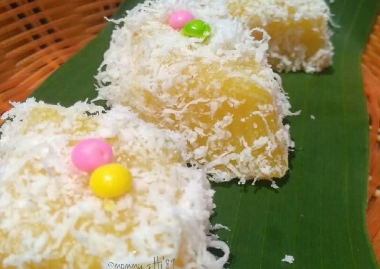 Resep Lapis Singkong Nanas Oleh Welly Herlina Mommy Zhi 89 Cookpad