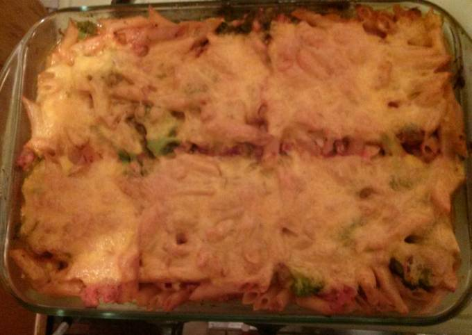 Easiest Way to Make Gordon Ramsay Broccoli, Ground Turkey, Pasta Casserole