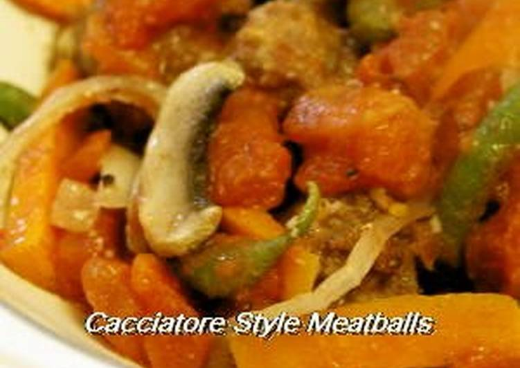 Discover How to Improve Your Mood with Food Cacciatora-style Stewed Meatballs