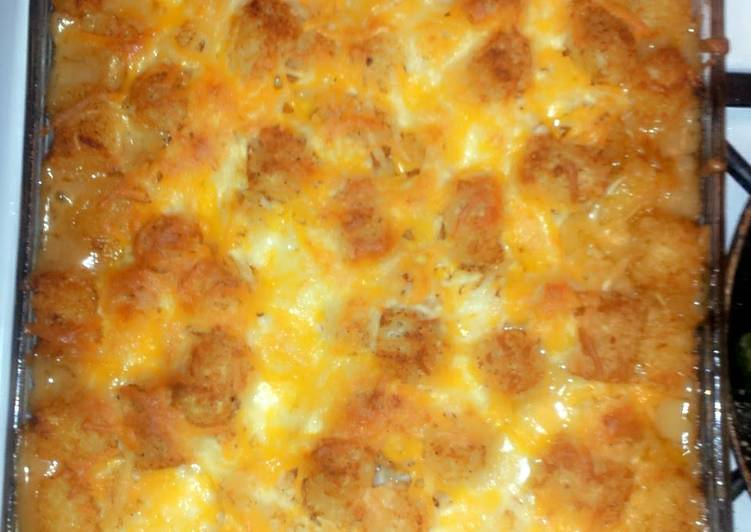 Easiest Way to Cook Appetizing April stator tot casserole
