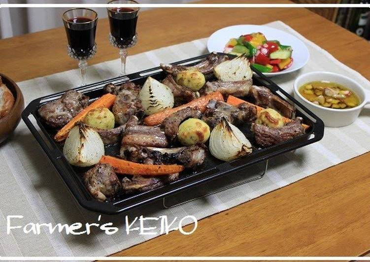 Farmhouse Recipe: Grilled Spare Ribs and Vegetables