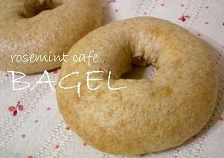 Steps to Make Homemade Macrobiotic Whole Wheat Tofu Bagels