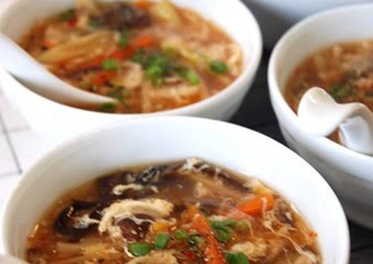 Your State Of Health Can Be Impacted By The Foods You Decide To Consume Taiwanese Hot and Sour Soup with Leftover Vegetables