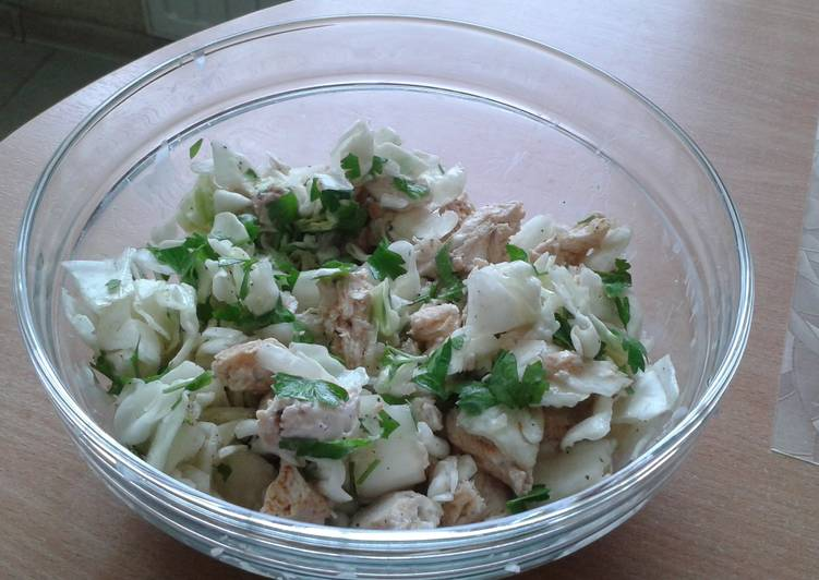 Tory's diet Cabbage with chicken
