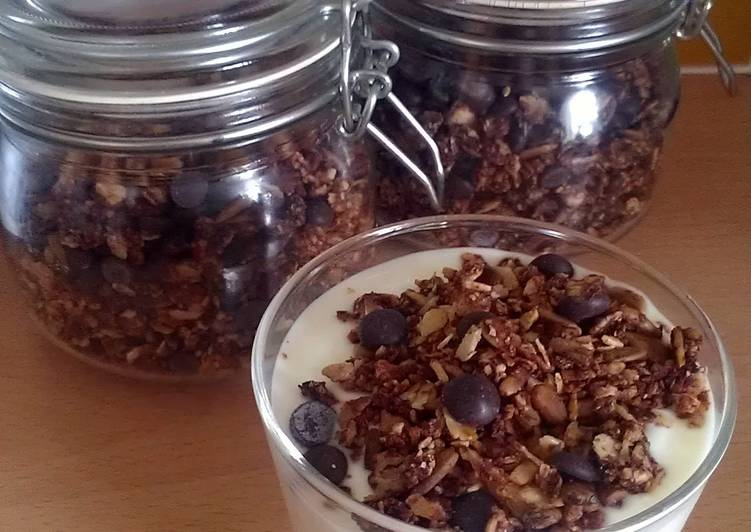 Recipe: Yummy Vickys Chocolate Granola GF DF EF SF NF