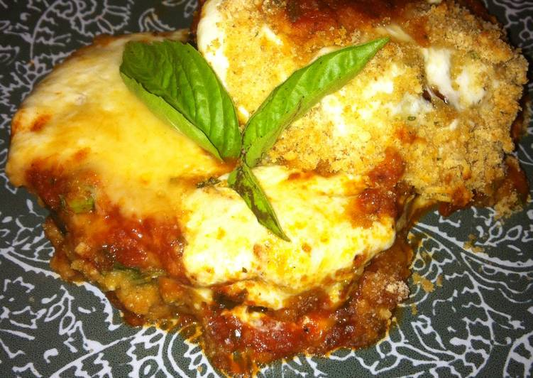 Fresh Eggplant Parmesan
