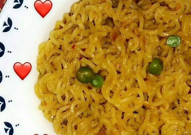 Recipe of Speedy Peas maggi