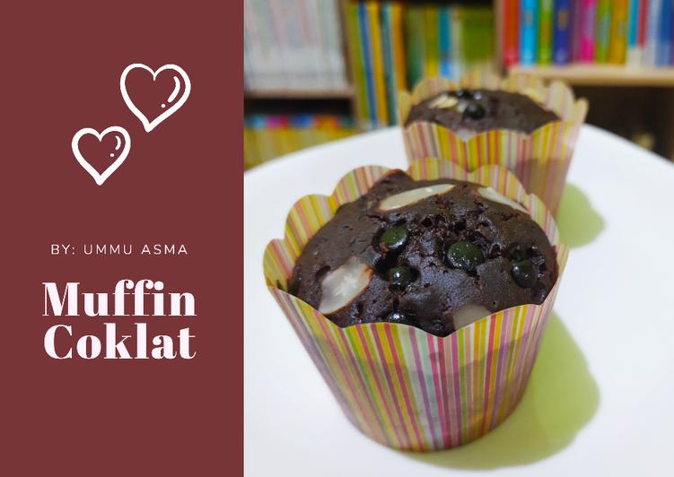 60. Muffin Coklat Panggang Wokpan/ Panci тЭдя╕П