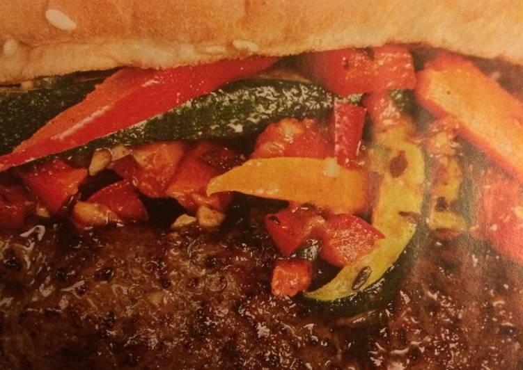 Recipe of Award-winning Caribbean Burger