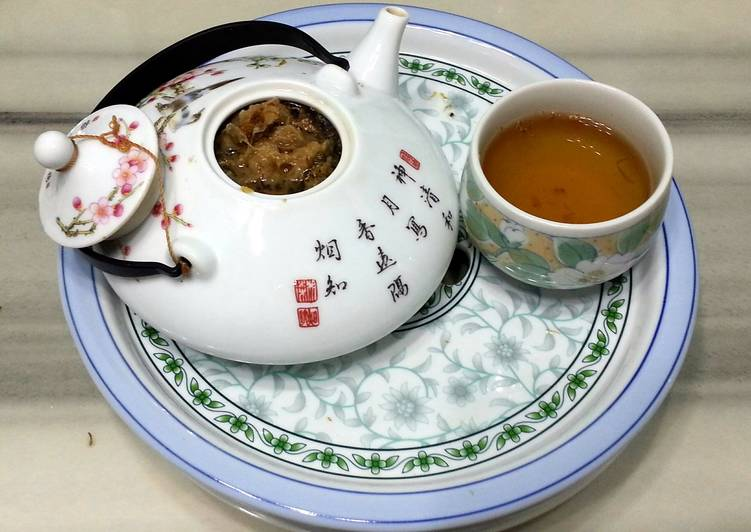 How to Prepare Perfect American Ginseng With Chrysanthemum Tea