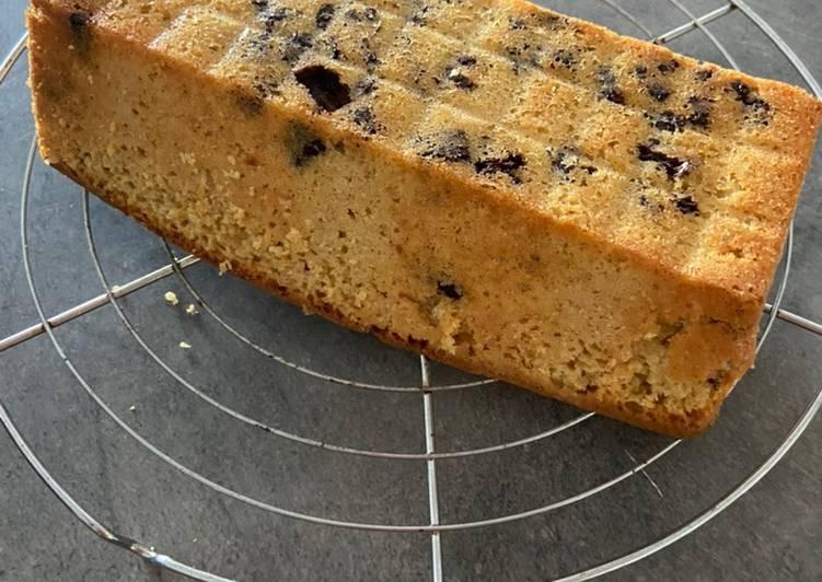 Recette Délicieux Gâteau yaourt au citron et pépites de chocolat