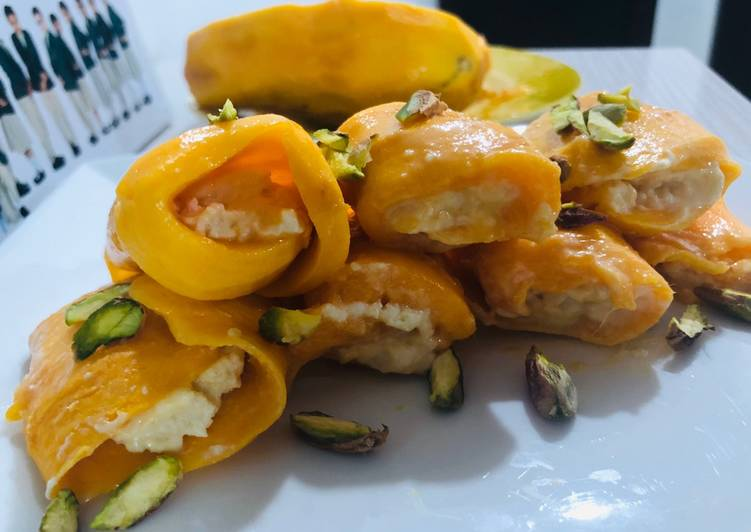 Eating 14 Superfoods Is A Terrific Way To Go Green And Be Healthy Mango creamy swiss roll