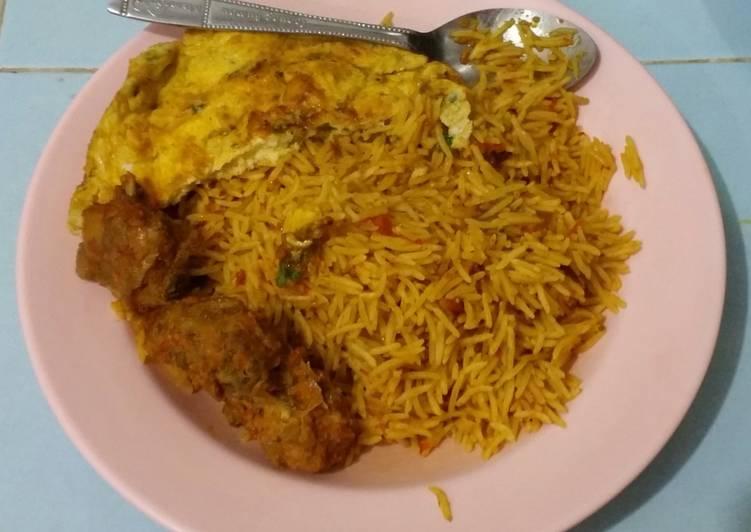 Resep Nasi Kebuli Ayam enak dan mudah