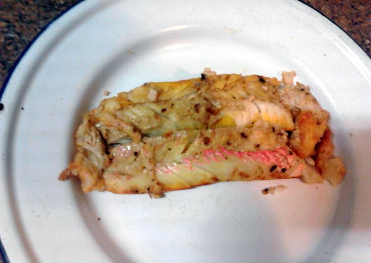 Amy's Spicy Smoked Cod/fish .