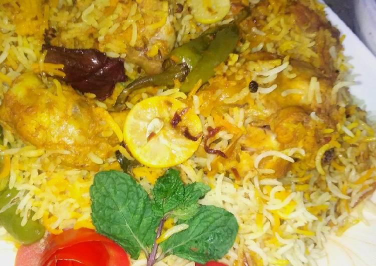 Steps to Prepare Perfect Dhuwadaar achari biryani in 1 hr
