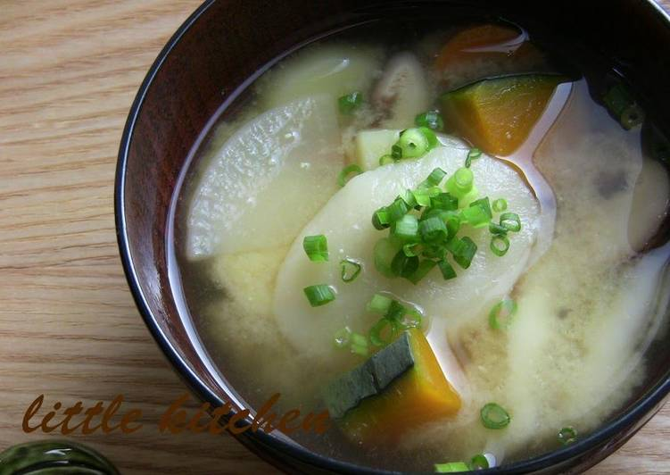 7 Delicious Homemade Miso Soup with Mochi Dumplings