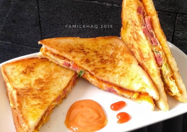Resep Sandwich Kubis Ala Korea Paling Joss