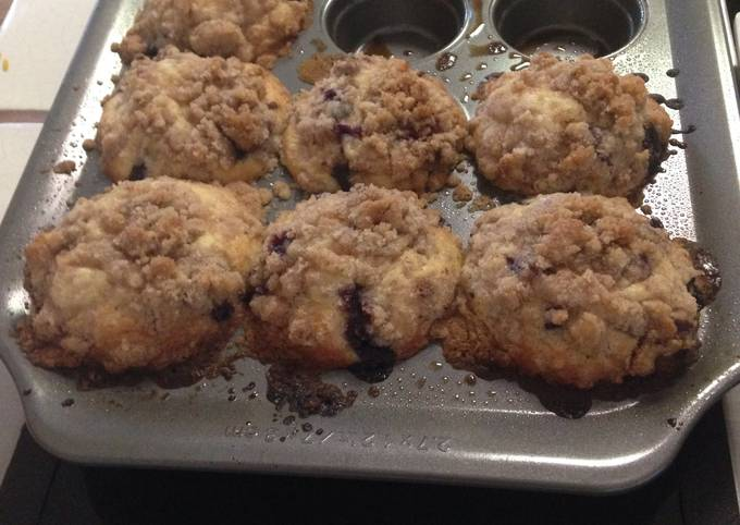 Easiest Way to Cook Delicious Blueberry Muffins