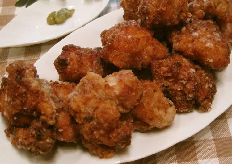 Juicy Kara-age Chicken with Yuzu Pepper and Shio-koji - Laurie G Edwards