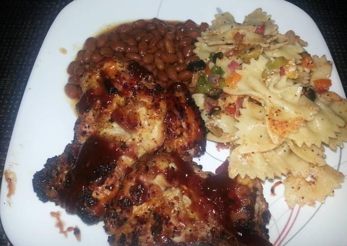 Recipe of Favorite BBQ..Boneless skinless chicken thighs