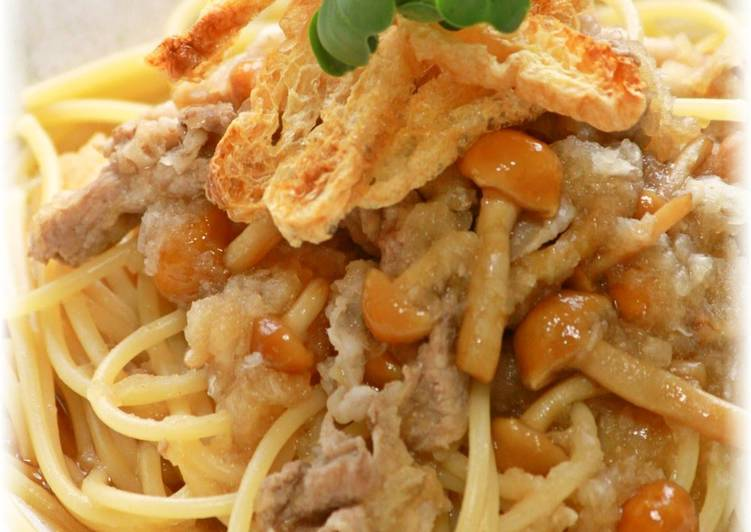 Eating 14 Superfoods Is A Good Way To Go Green And Be Healthy Pork and Grated Daikon Radish Pasta
