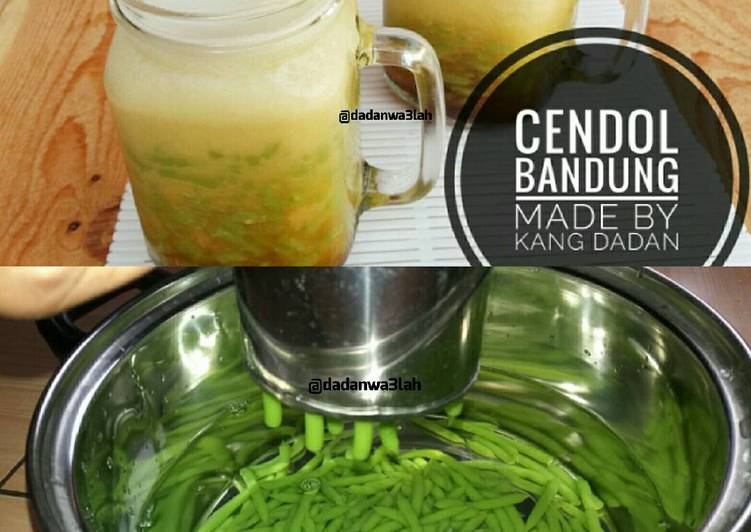 Resep Cendol Bandung Oleh Kang Dadan Cookpad