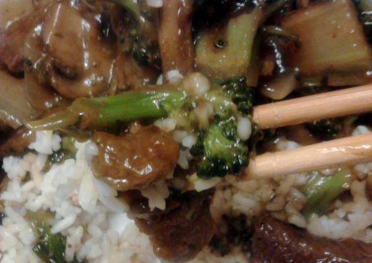 Simple Way to Make Favorite Beef & Broccoli Stir Fry with variations