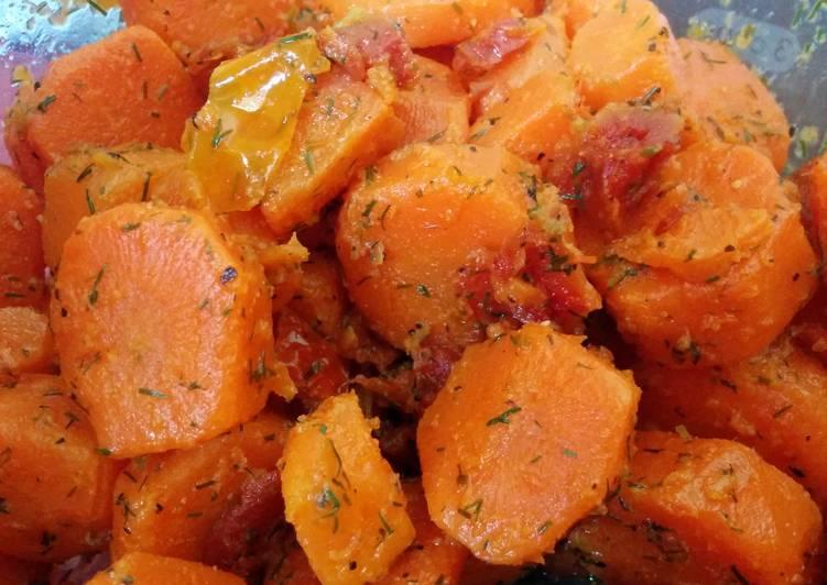 Garlic Dill Carrots