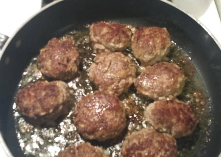 Barbie T's Italian Meatballs