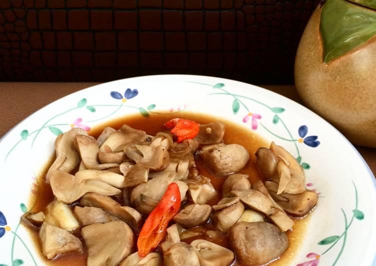 Tumis tumis jamur (menu harian simple)