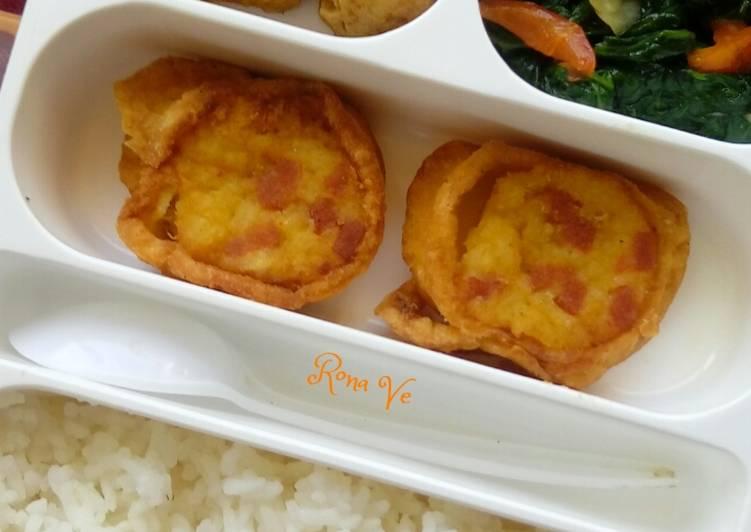 Rice egg roll simple 3 bahan
