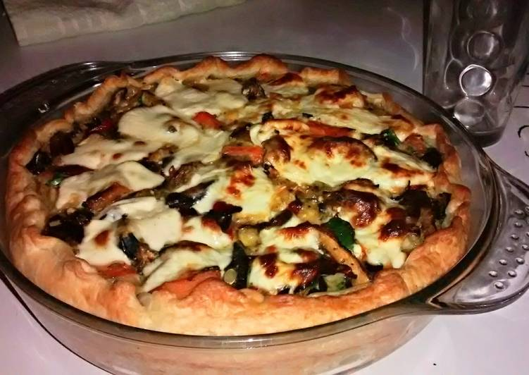 Roasted Vegetables Pie