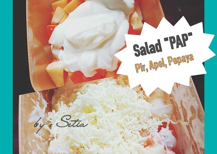 Salad Pir Apel Pepaya