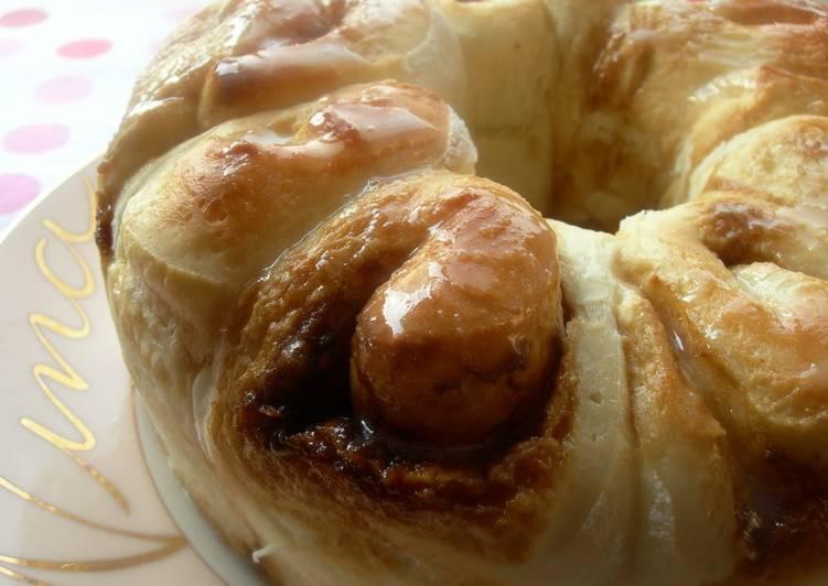 Recipe of Perfect Brown Sugar Ring Bread