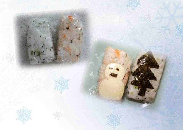 Recipe: Yummy Easy Rectangular Onigiri