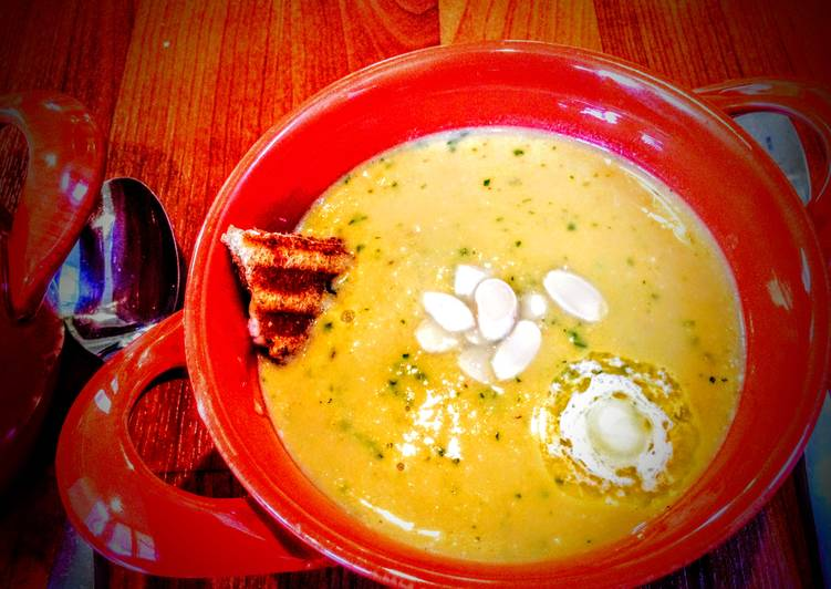 Piri Piri Spiced Sweet Potato and Leek Soup, Deciding on Healthy Fast Food