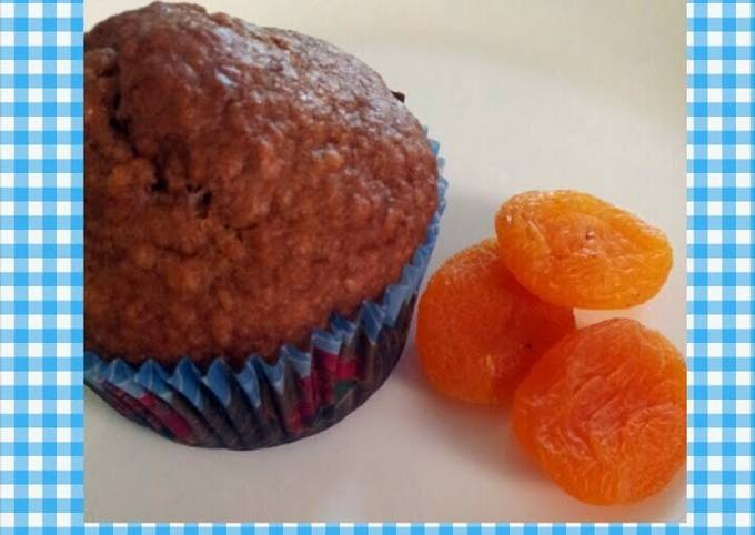 Recipe: Tasty Apricot bran muffins