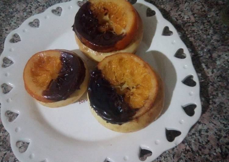 Mini moskochou aux oranges