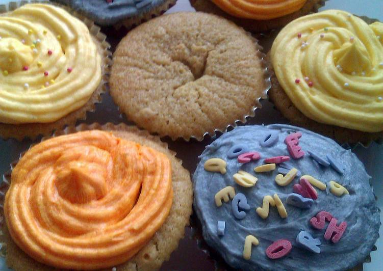 Easiest Way to Prepare Delicious Vickys Vanilla Cupcakes, GF DF EF SF NF
