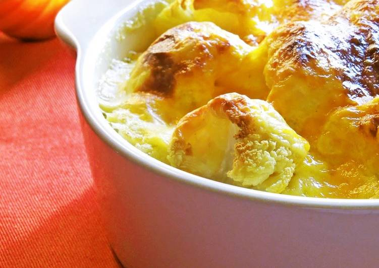 [A Flavor of England] Cheese Cauliflower