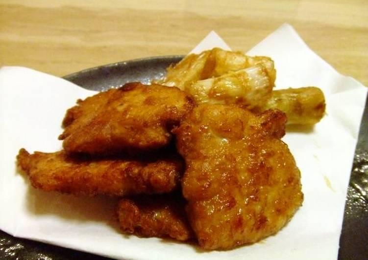 Steps to Make Favorite Moist Fried Chicken Karaage with Chicken Breast Meat