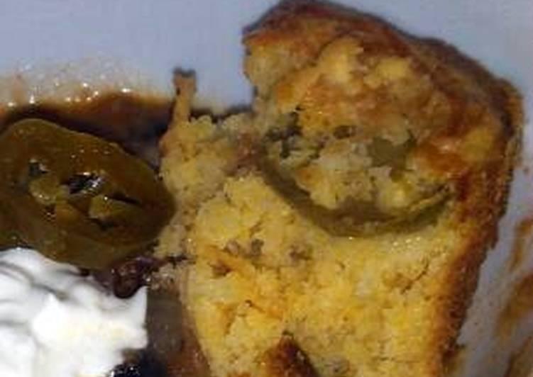 jalapeno Cheddar corn bread