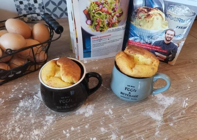 Soufflé au fromage de Cyril Lignac
