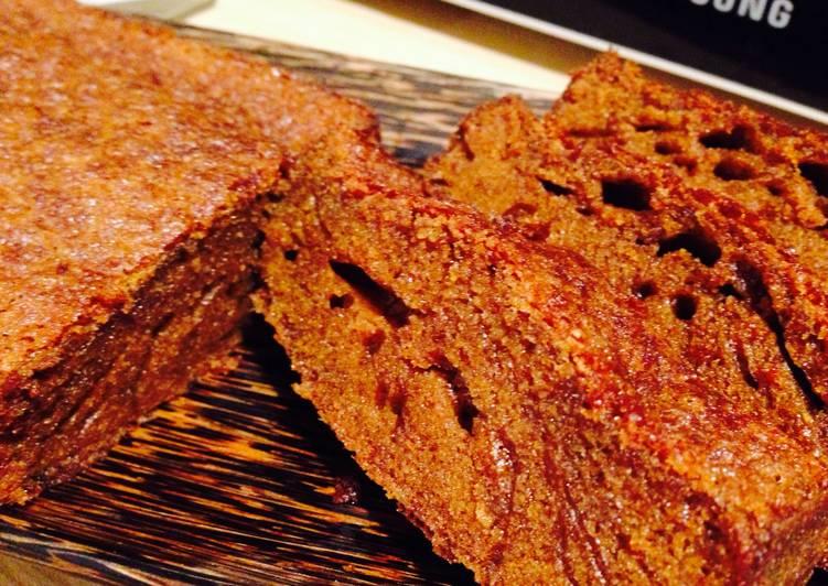 Easiest Way to Cook Perfect Kue Sarang Semut (Caramel Cake)