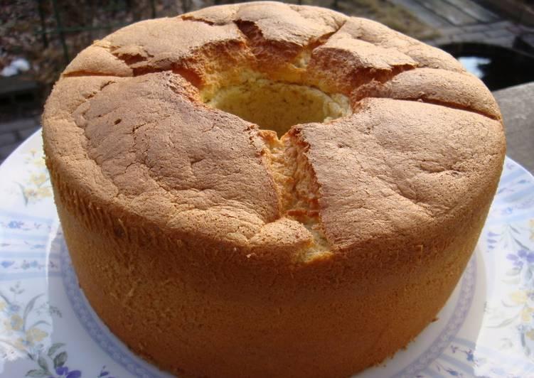 Recipe of Most Popular Healthy Soy Milk Banana Chiffon Cake