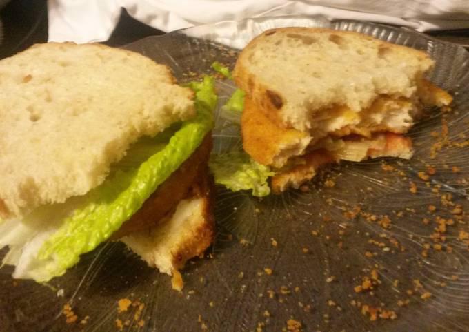 Quick Easy Chicken Sandwhich